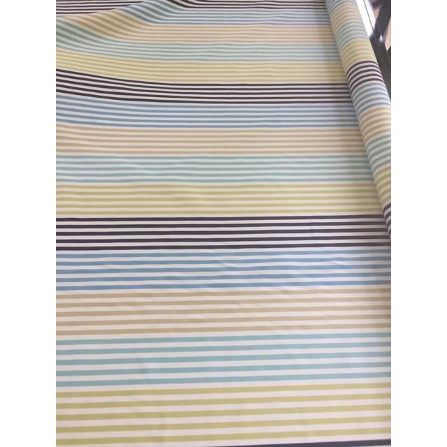 2010s Zoffany Striped Fabric Remnant For Sale - Image 5 of 6