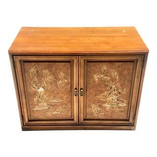 1970s Vintage Henry Link Oriental Cabinet For Sale