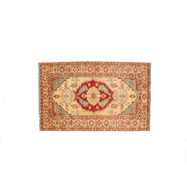"""Kazak Wool Rug - 4'1"""" x 6'6"""" - Image 2 of 7"""