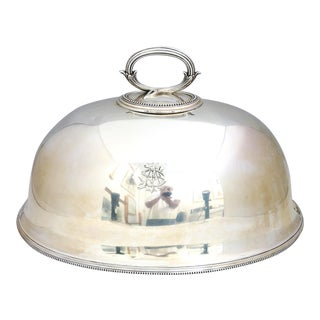 Large Early Elkington Silver Turkey Dome For Sale
