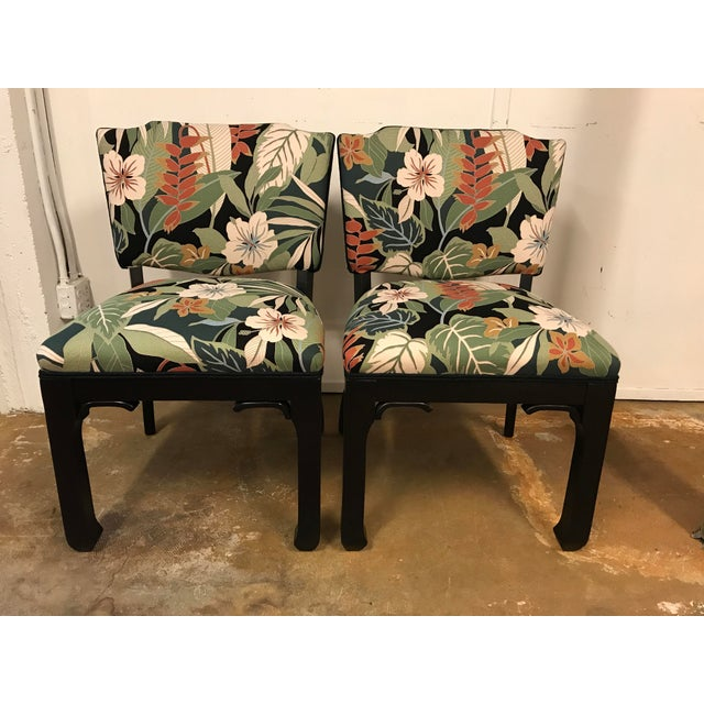 James Mont Inspired Side Chairs - A Pair - Image 2 of 9
