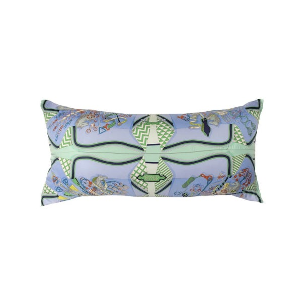 Selectively sourced, our vintage Hermès silk scarf pillows are a thing of beauty. Special attention is paid to the...
