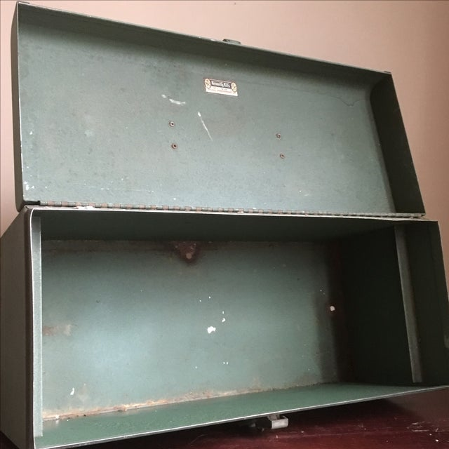 Vintage Green Kennedy Tool Box For Sale - Image 10 of 11