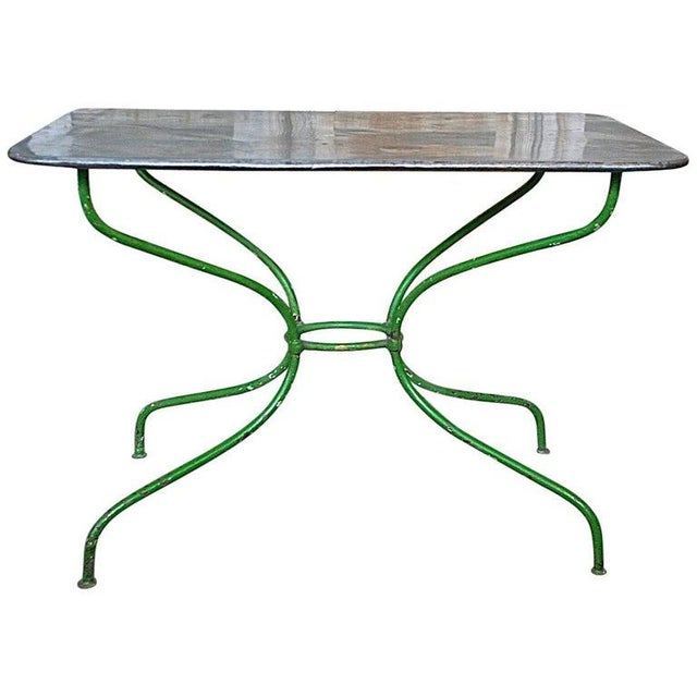Early 20th Century French Garden Table For Sale - Image 9 of 9