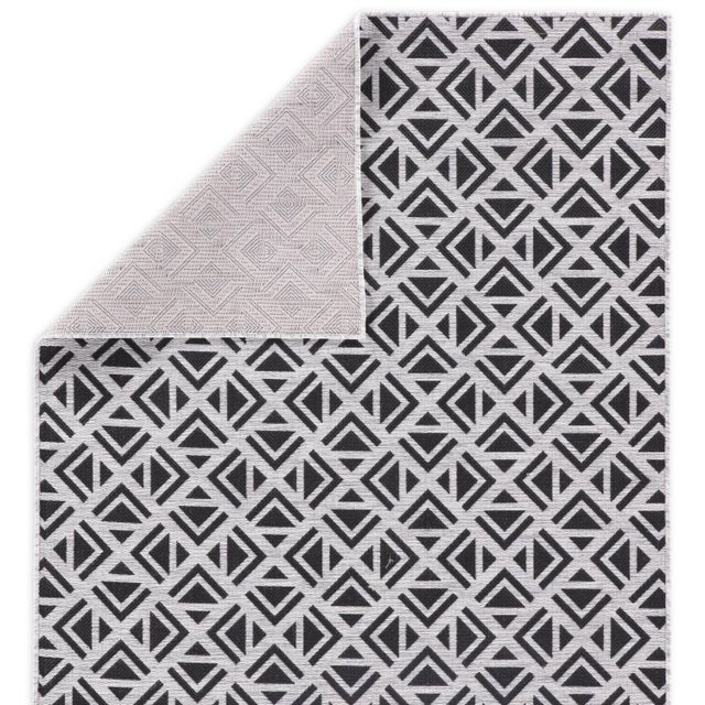Nikki Chu by Jaipur Living Tanith Indoor/ Outdoor Geometric Area Rug - 2′ × 3′7″ For Sale - Image 4 of 6