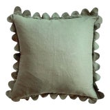 Image of Carly Home Thyme Scalloped Pillow For Sale