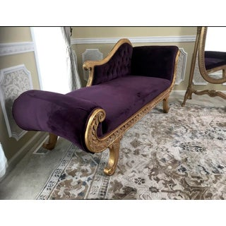 21st Century Violet Chaise Lounge Preview