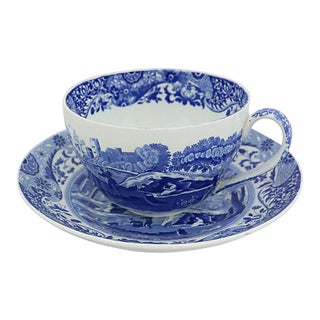 Spode Italian Breakfast Cup & Saucer For Sale