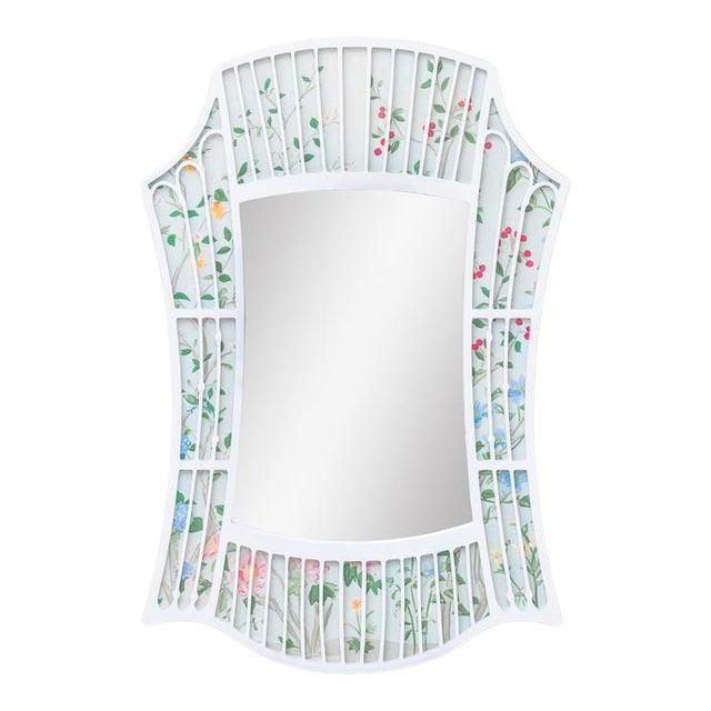 Fleur Home x Chairish Hayley Sarno Bamboo Mirror, 24x36 For Sale