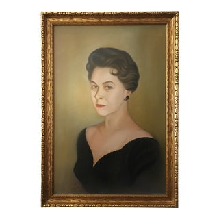 Vintage Portrait of a Woman For Sale