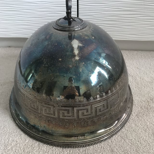 Antique Sterling Silver Serving Dome - Image 3 of 8