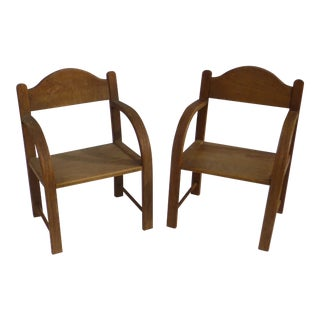 Mid Century Child's Thonet Chair ~ A Sweet Pair