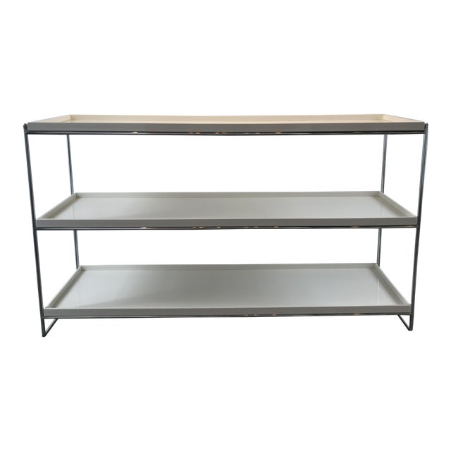 Kartell Trays 3 Shelf Bookcase For Sale