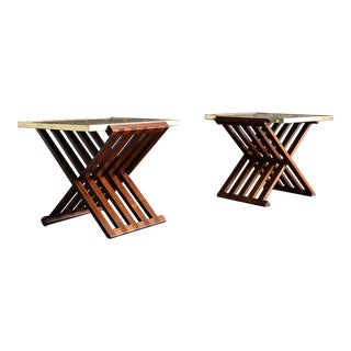 Edward Wormley Model 5425 Side Tables for Dunbar, Circa 1954 - a Pair For Sale