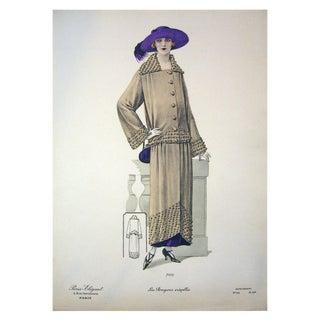 1920s Vintage Paris Elegant 7659 Print For Sale