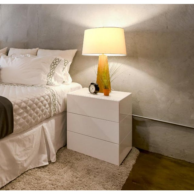 Brix 3-Drawer Bedside Table by Niels Bendtsen - Pair - Image 7 of 9
