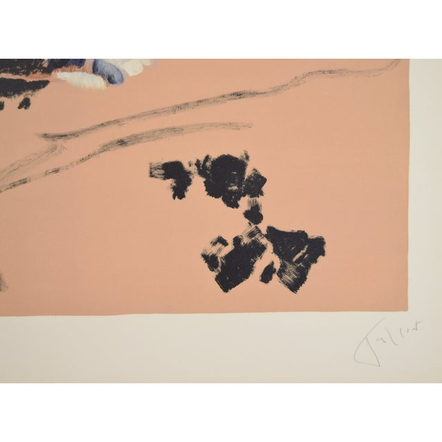 "1950s Vintage ""Transhumance"" Pierre Tal-Coat French Abstract Lithograph Print For Sale - Image 4 of 7"