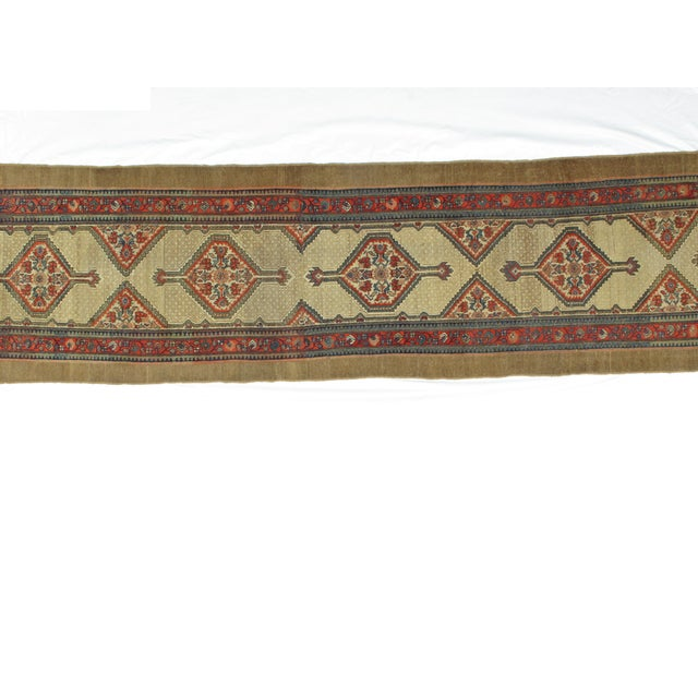"Leon Banilivi Antique Sarab Runner - 3'5"" X 16' - Image 4 of 7"