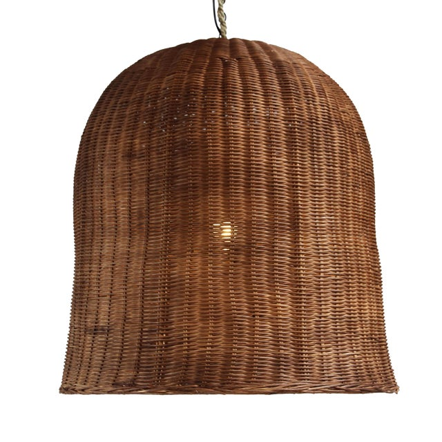 Coffee Stain Bell Lantern Extra Large For Sale