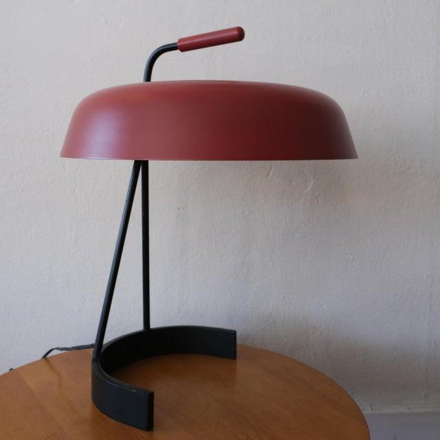 Mid 20th Century Modernist European Desk Lamp, 1950s For Sale - Image 5 of 11