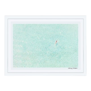 "Gray Malin ""Girl in Pink, Bora Bora"" (à La Plage) Framed Print For Sale"