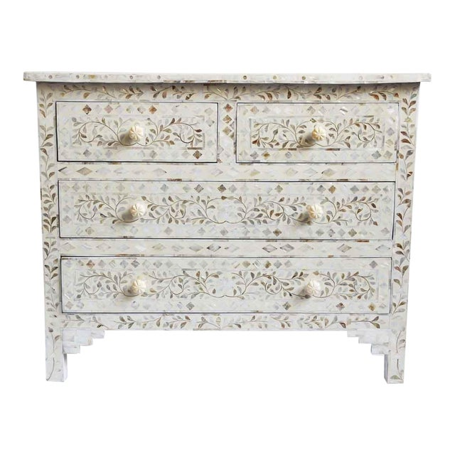 Mother of Pearl Inlay Dresser For Sale