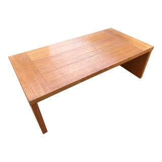 Danish Modern Teak Desktop Computer Stand For Sale