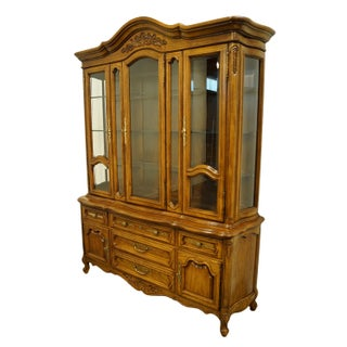 Unique Furniture Country French Provincial China Cabinet Preview