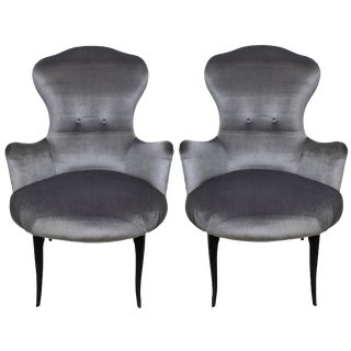 Pair Italian Bedroom Chairs For Sale