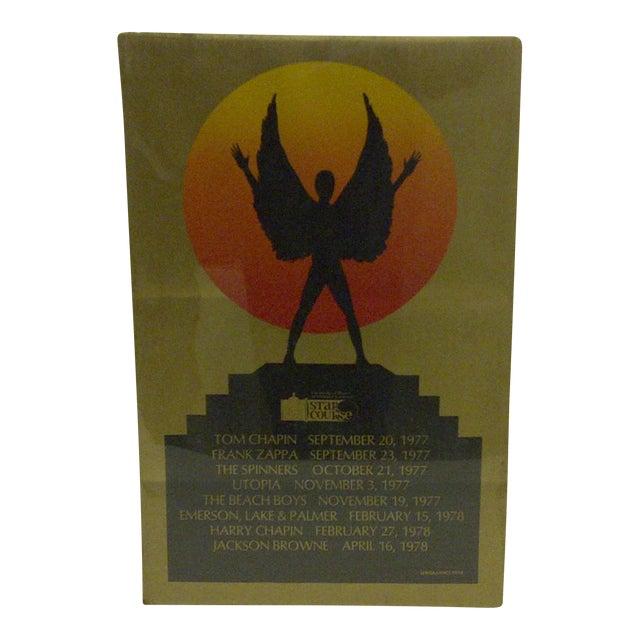 1978 Vintage Star Course Concert Series Concert Poster - Image 1 of 4