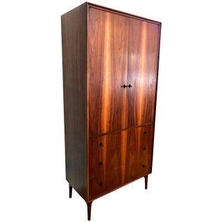 1950s Mid-Century Modern John Kapel for Glenn of California Walnut Gentlelman's Dresser