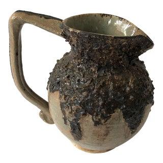 Vintage Studio Pottery Ewer For Sale