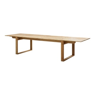 Cane-Line Endless Dining Table, Extra Long For Sale