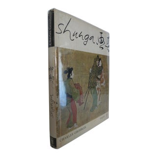 1960s Shunga ...Erotic Elements in Japanese Art, Oversize Illustrated Book by Charles Grosbois For Sale