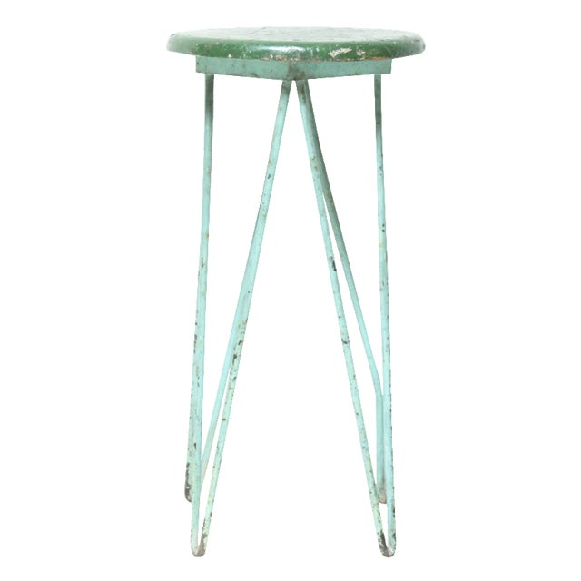 Green Hairpin Leg Stand - Image 1 of 4