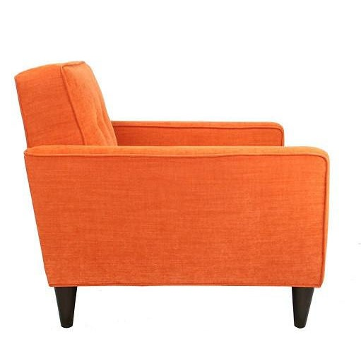 Mid-Century Modern Bowie Club Chair - Image 3 of 4