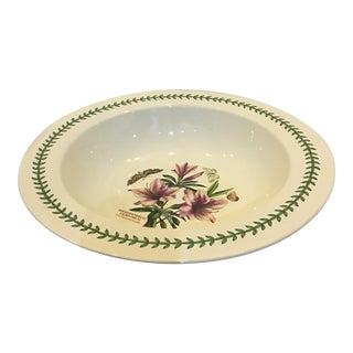 Susan Williams Ellis Large Floral Bowl For Sale