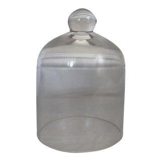 Clear Glass Bell Jar