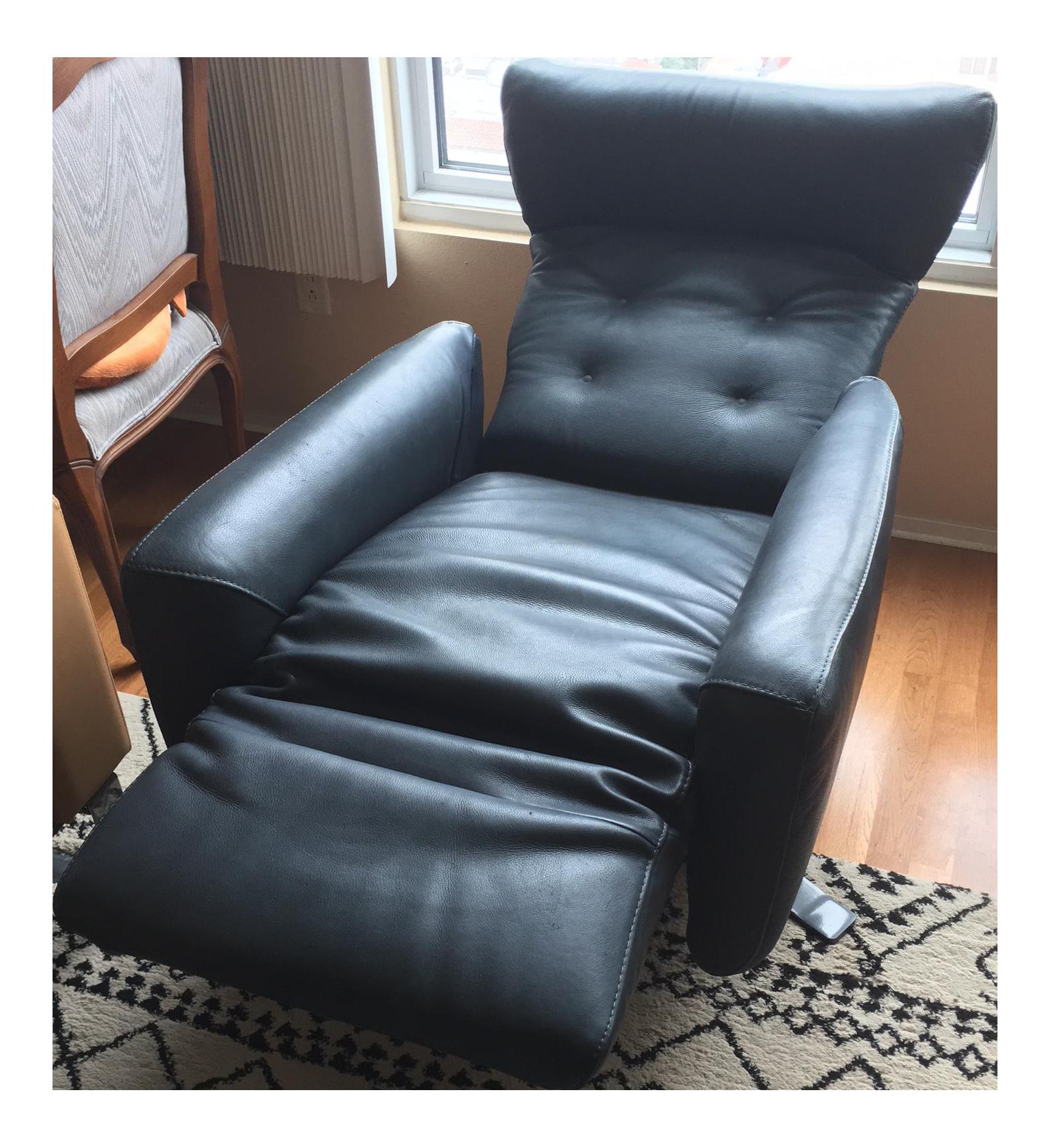 Federica Motorized Recliner Swivel Chair