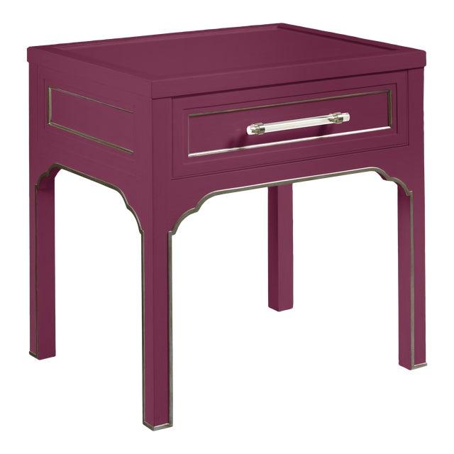 Laine Side Table, Grape Juice For Sale