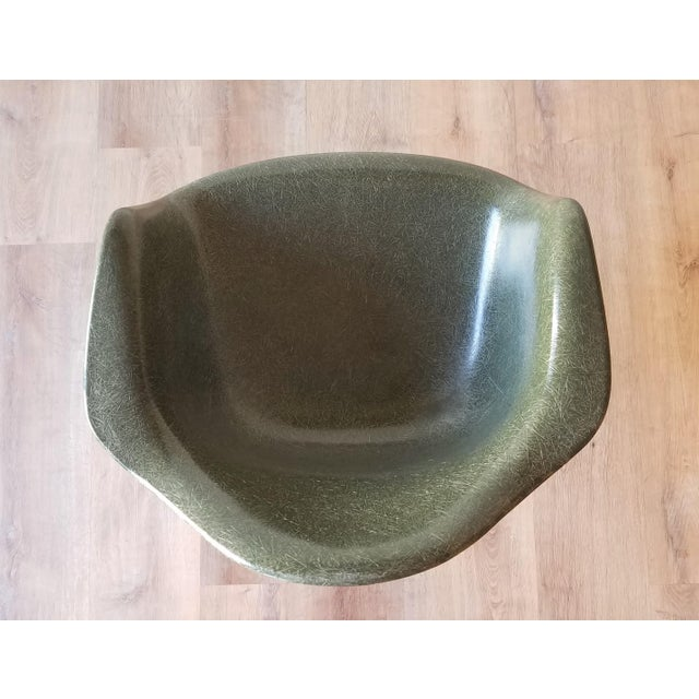 1960s Olive Green Eames DAR Eiffel Chair For Sale In Seattle - Image 6 of 13