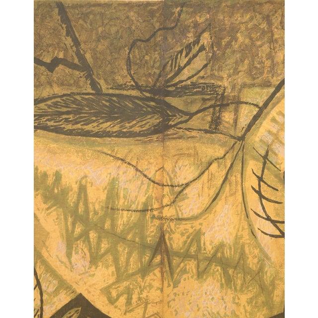 Mario De Ferrante MCM Print - Dancing Leaves - Image 2 of 4