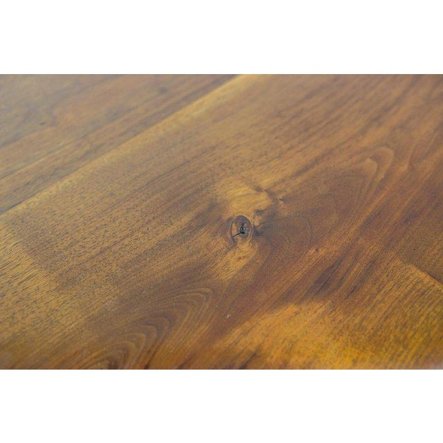 One of a Kind James Monroe Camp Studio Coffee Table in Walnut Usa 1975 For Sale - Image 6 of 9