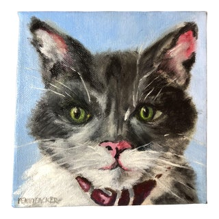 """Tom Cat 2"" Contemporary Painting For Sale"
