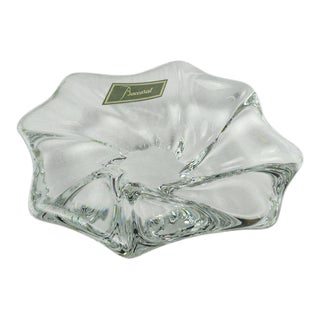 Baccarat Signed Candy Dish For Sale