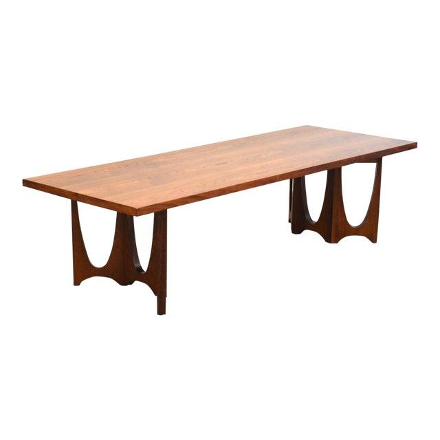 Fine Broyhill Brasilia Walnut Coffee Table Uwap Interior Chair Design Uwaporg