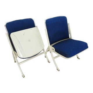 Heywood Wakefield Theater Chairs - a Pair For Sale