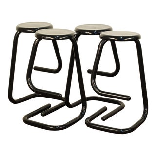 "Haworth ""Paperclip"" K700 Stools by Kinetics - Set of 4 For Sale"