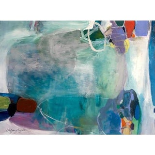 Ryan Fugate Contemporary Acrylic on Canvas Painting For Sale
