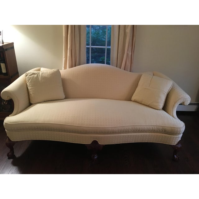 Hickory Chair Chippendale Sofa - Image 2 of 6
